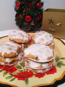 Post frosting! These are stackable once the frosting has hardened