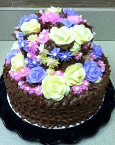 """2 Tier Chocolate 'Fairy Cake"""""""
