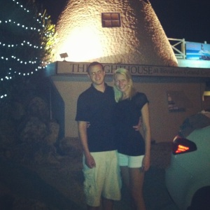 Grand Cayman dinner with Levi